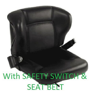 New Toyota Seat With Switch Seatbelt 53710 u1160 71 e Forklift Fork Truck Seat