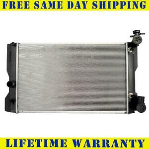 Radiator For Toyota Pontiac Fits Corolla Matrix Vibe 1 8 L4 4cyl 13106