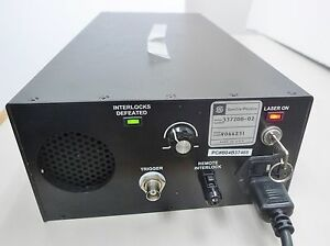 Spectra physics 337200 02 Laser powers On for Perseptive Biosystems Voyager