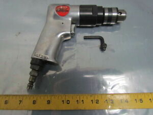 Air Supreme Pneumatic Reversible Drill 1 5 10mm Keyed Chuck