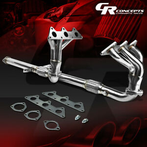 For 00 05 Eclipse 3g 3 0 V6 Stainless Flex Exhaust Pipe Manifold Header Gasket