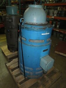 Fairbanks morse 100hp 440vac 880rpm Hollow Shaft Vertical Mount Induction Motor