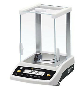 Sartorius Entris224 1s Analytical Lab Balance 220gx0 1 Mg brand New 2 Year Warr