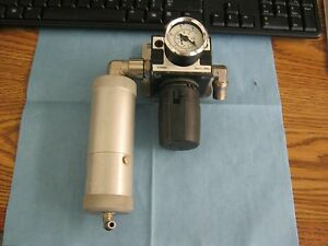 Piab Model 0104486 Remote Regular Valve With Guage And Filter