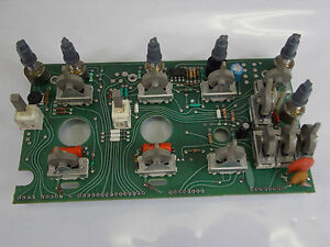 Tektronix 2213 Oscilloscope Circuit Board Front Panel P n 670 6864 01