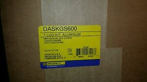 Schneider Electric Daskgs600 Mechanical Lug Kits Aluminum free Shipping