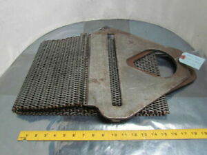 Lift all Roughneck Wire Mesh Sling 12 Wide 12 Gage Medium Duty 80 1 2 Oal