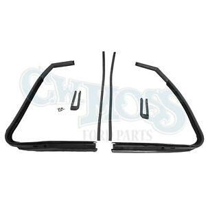 Vent Window Seals 4pc 1941 48 Ford Convertible
