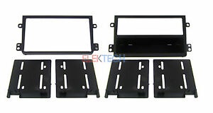 Radio Dash Stereo Mounting Kit For Honda Element Single Double Din Install New