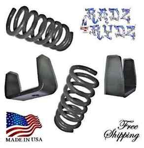 1983 1997 Ford Ranger Mazda B 2wd 3 5 Drop Coils Springs Axle Flip Lowering Kit