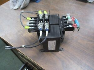 Dongan Industrial Control Transformer Hc 0500 4100 500 Kva 1ph Used