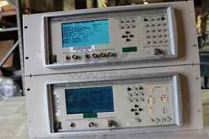 Tektronix Sonet Transmission Test Set Transmitter Receiver Set