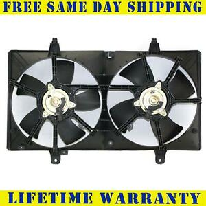 Radiator And Condenser Fan For Nissan Altima Maxima Ni3115116