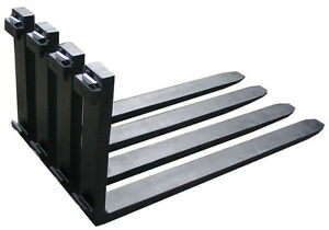 New Forklift Forks 6 Ft 1 Set Of 72 X 5 Class 2 Class Ii Standard Forks pair