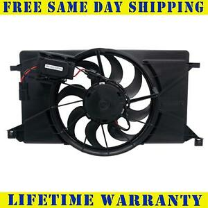 Radiator And Condenser Fan For Ford Focus Fo3115189 With Control Module