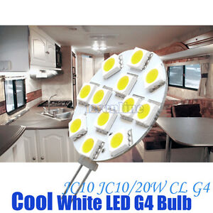 12volt Led G4 Replace Bulb Car Rv Boat Truck Camper Cabinet Down Light Cool W