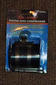 Large Ratcheting Style Piston Ring Compressor 53 175mm 2 1 8 To 7 Inch Band