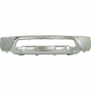 Front Lower Bumper For 2005 08 Nissan Frontier 2 piece Type Steel Chrome