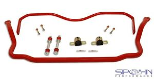1 375 Front 1 00 Rear Chrome Moly Sway Bars Set 1978 1987 Gm G Body
