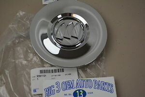 2010 2014 Buick Enclave Chrome Center Cap Wheel Cover New Oem 9597721