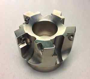 2 5in Indexable Face Mill 0 750in 5 flute Pilot Diameter Sonx 1205