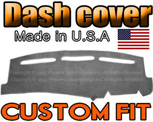 Fits 1999 2006 Chevrolet Silverado 1500 2500 3500 Dash Cover Mat Charcoal Grey