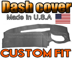 Fits 1995 1996 Chevrolet Silverado Truck Dash Cover Mat Dashboard Charcoal Grey