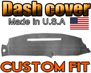 Fits 1997 1998 Chevrolet Silverado Dash Cover Mat Dashboard Pad Charcoal Grey