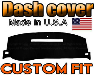 Fits 2008 2013 Chevrolet Silverado 1500 2500 3500 Dash Cover Mat Black