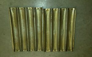 Baguette French Bread 18 X 26 4 Loaf Aluminum Perforated Pan Lot Of 8