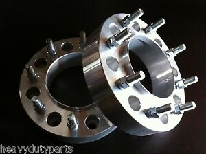 2 Chevrolet 3500 Hd 2011 To 2019 Hub Centric Dually Wheel Spacers 2 8x210