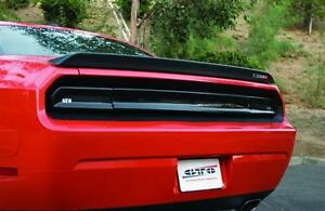 For 2008 14 Dodge Challenger Rt Gts Taillight Center Panel Covers Smoke 3pc New