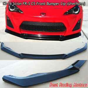 A Style Front Bumper Lip Urethane Fits 12 16 Scion Fr S Toyota 86