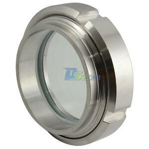 76mm 3 Sanitary Sight Glass Stainless Steel Ss316 Circular Viewing