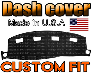 Fits 2002 2005 Dodge Ram 1500 2500 3500 Dash Cover Mat Dashboard Pad Black