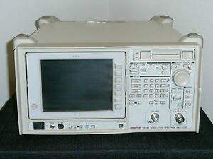 Advantest R3465 Modulation Spectrum Analyzer W Option 61