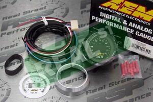 Aem Digital Voltage Volts Gauge 8 18vs 30 4400