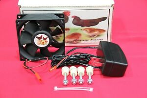 New Circulated Air Fan Kit For The Little Giant Hovabator Incubator