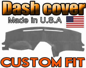 Fits 2004 2010 Toyota Sienna Dash Cover Mat Dashboard Pad Charcoal Grey
