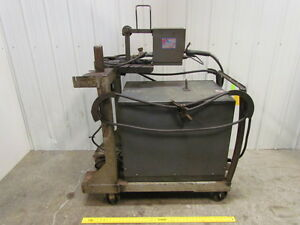 Lincoln Idealarc 400 Amp Dc Welder W wire Feeder Gun Cart Cables 230 460v 3ph