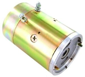 New 12v Cw Meyer Snow Plow Motor For E60 And E57 Pumps