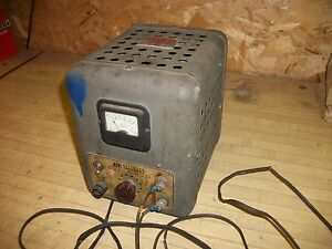 Vintage Atr Ac Dc Inverter 110v 6vdc Model 610 Power Supply