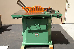 Northfield No 4rt Table Saw W standard Rolling Table woodworking Machinery