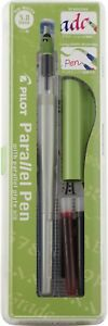 Pilot Fp338 set Parallel Pen Set 3 8mm Nib pil 90052 6 pk