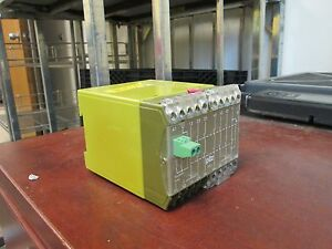Pilz Safety Relay Pze7 120vac 6va 50 60hz Used