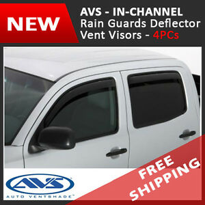 2015 2020 Chevrolet Tahoe Avs In channel Rain Guards Visors Window Deflectors