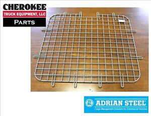 Adrian Steel 60 1 Security Screen 25w X 22 9h Gray Multiple Vehicles