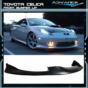 Fit For 00 02 Toyota Celica Poly Jdm Front Bumper Lip Spoiler Pu Urethane
