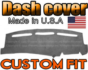 Fits 1999 2006 Gmc Sierra Dash Cover Mat Dashboard Pad Charcoal Grey