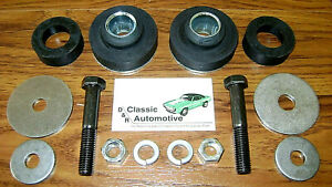 Subframe Radiator Core Support Bushing Kit With Hardware 14pc In Stock Bushings